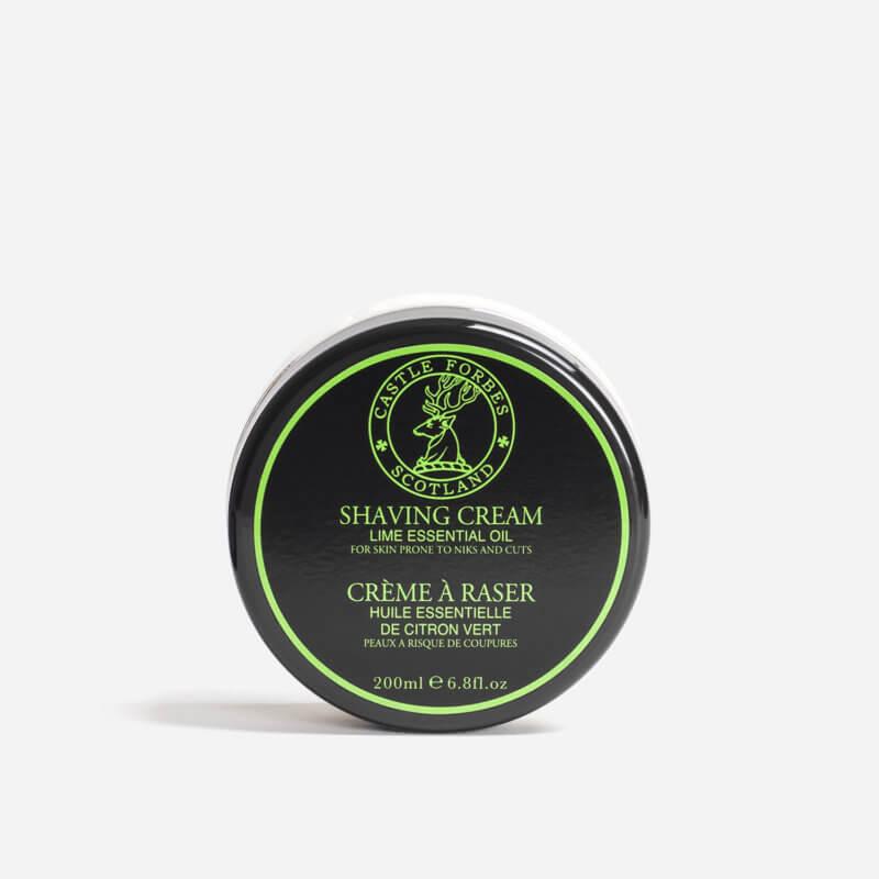 Castle Forbes Lime Shaving Cream
