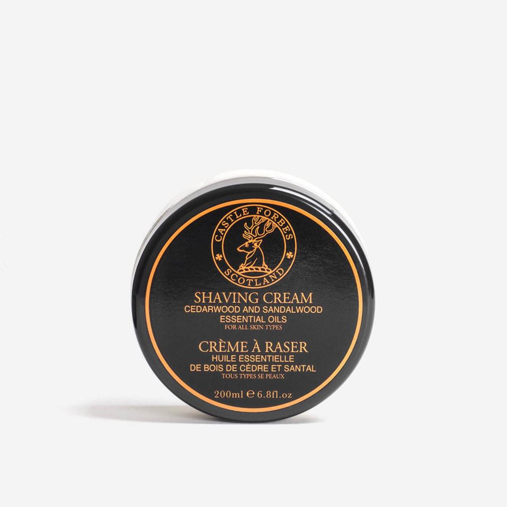 Castle Forbes Sandalwood Shaving Cream