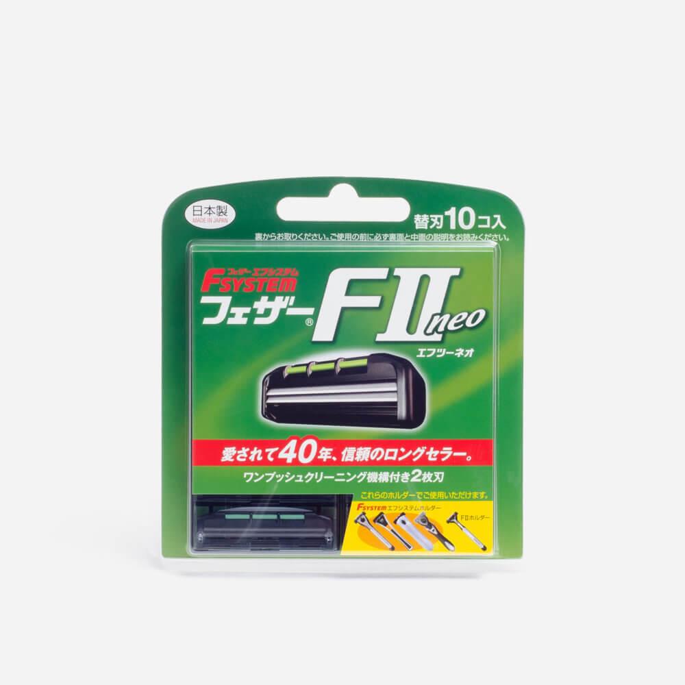 Feather FII Neo Cartridge Razor Blades