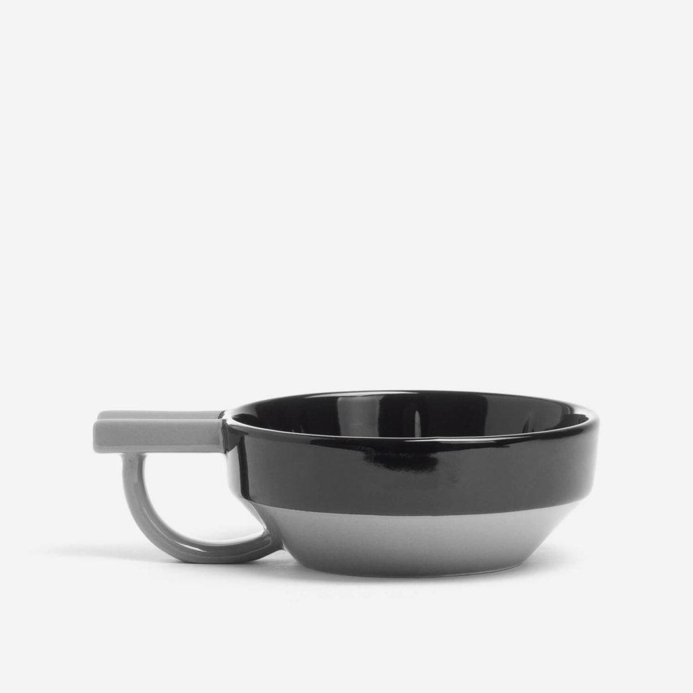 Fine Black Lather Bowl