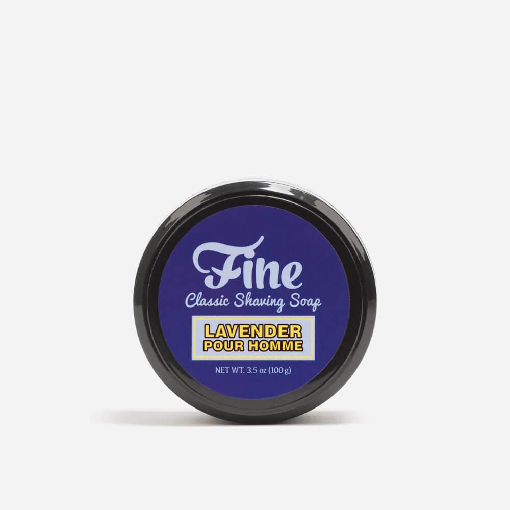 Fine Lavender Shaving Soap