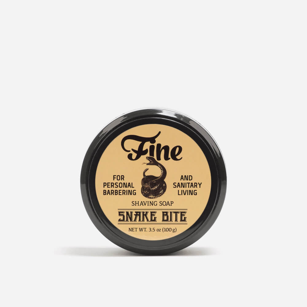 Fine Snake Bite Shaving Soap