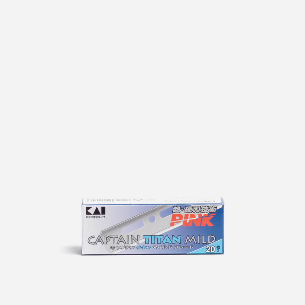Kai Captain Titan Mild Single Edge Razor Blades