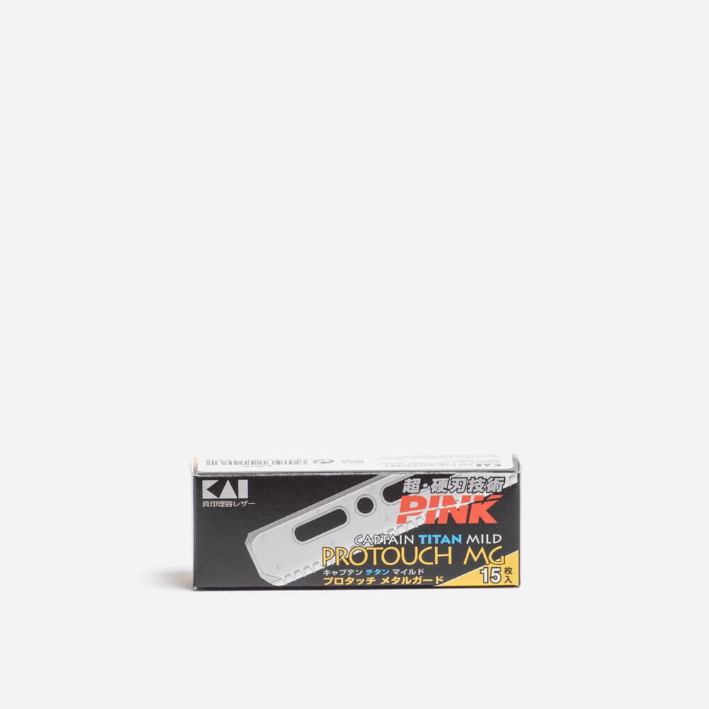 Kai Protouch MG Single Edge Razor Blades