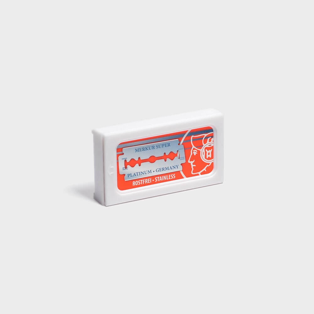 Merkur Super Platinum DE Safety Razor Blades
