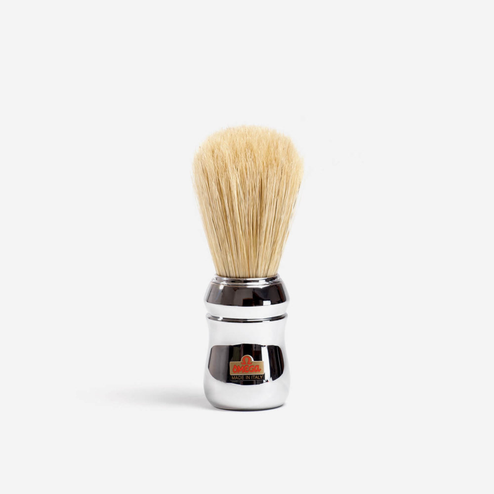 Omega 10048 Boar Hair Shaving Brush