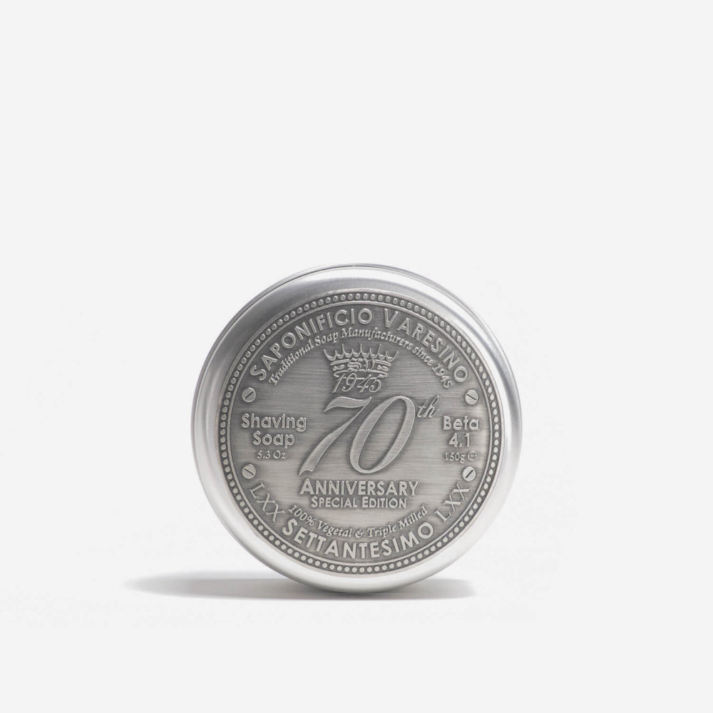 Saponificio Varesino 70th Anniversary Shaving Soap with Tin