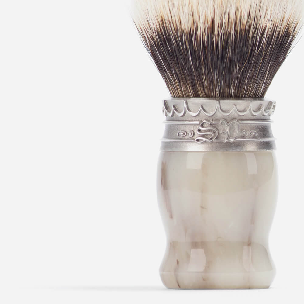 Saponificio Varesino Faux Horn Shaving Brush