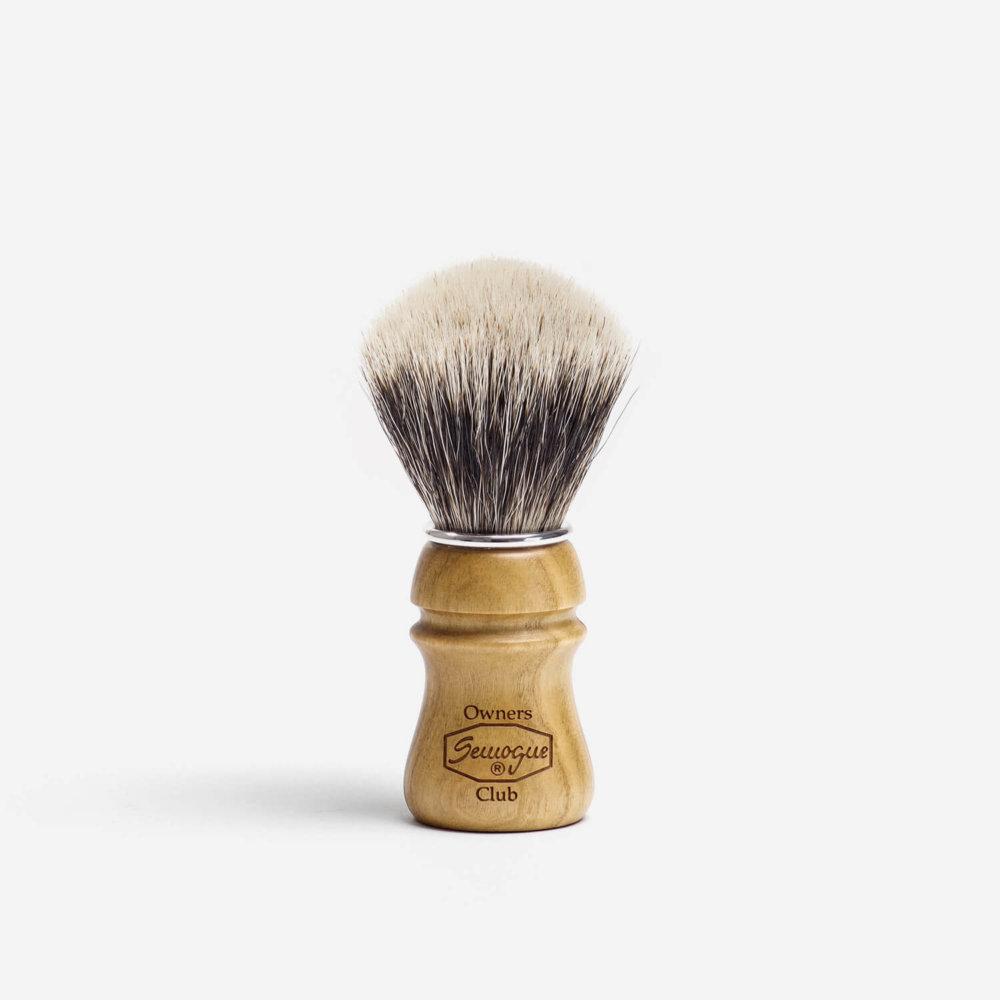 Semogue SOC Fine Badger Hair Shaving Brush with Cherry Wood Handle