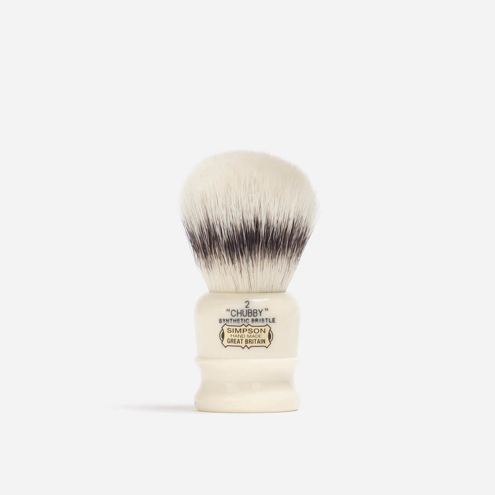 Simpsons Chubby 2 Synthetic Fibre Shaving Brush