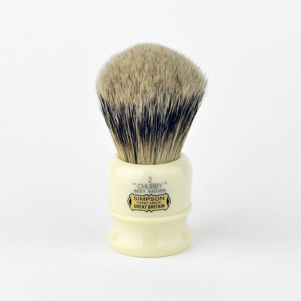 Simpsons Chubby 2 Best Badger Shaving Brush Free Uk