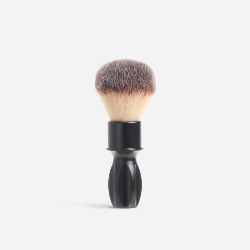RazoRock 400 Synthetic Fibre Shaving Brush - Matte Black