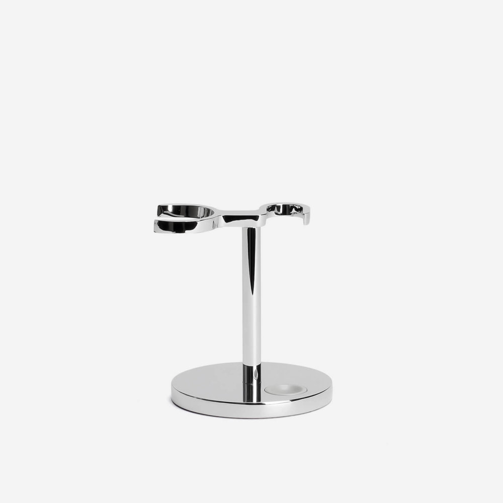 Muhle RHM UNI Razor & Shaving Brush Stand in Chrome
