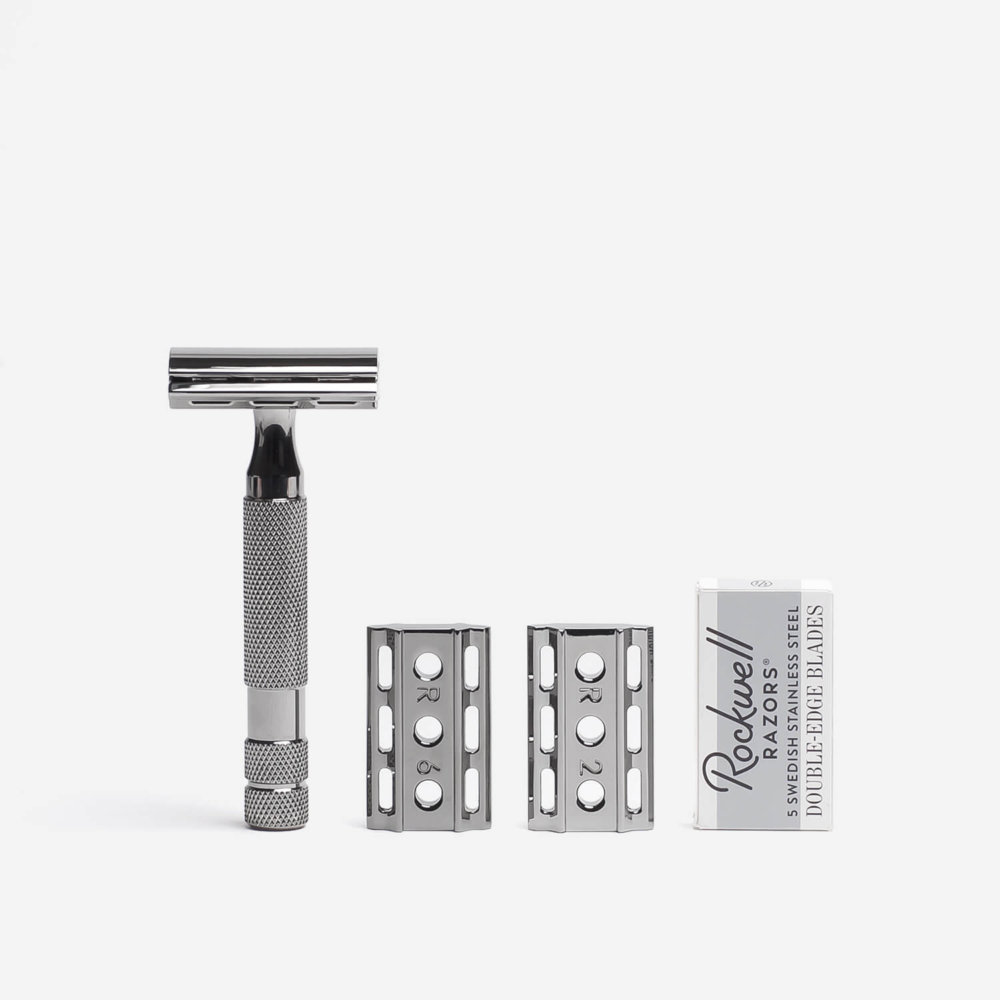 Rockwell 6C Safety Razor Gunmetal 2
