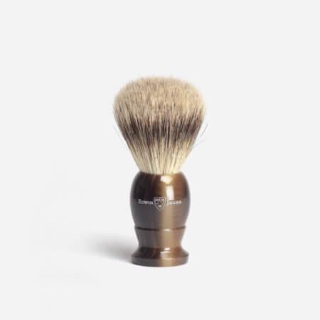 Edwin Jagger 3EJ872 Large Best Badger Hair Shaving Brush in Horn
