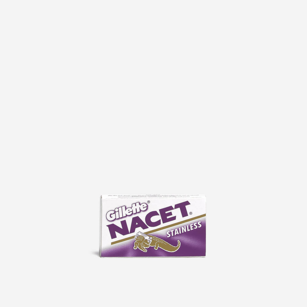Gillette Nacet DE Safety Razor Blades