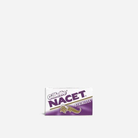 Gillette Nacet DE Safety Razor Blades