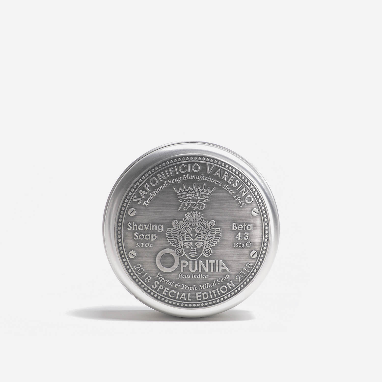 Saponificio Varesino Opuntia Shaving Soap with Tin