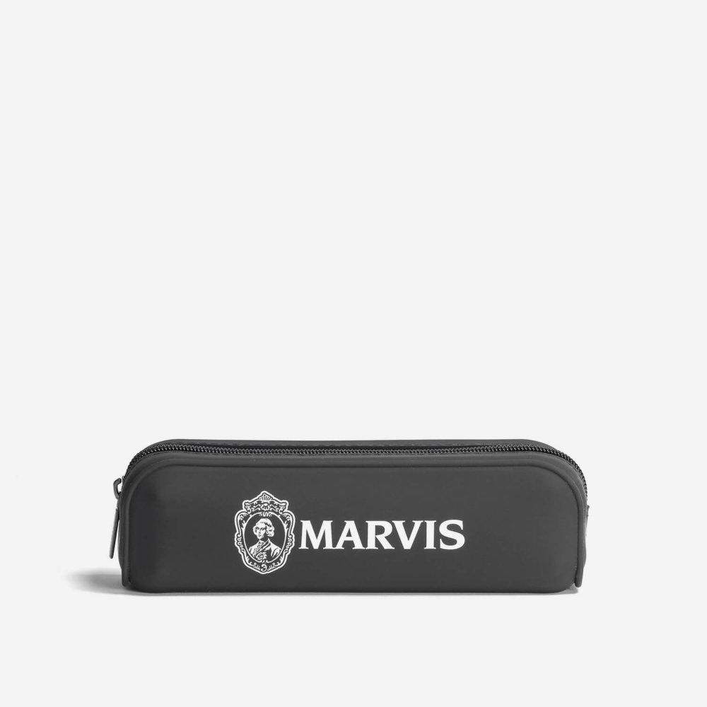 Marvis Toothbrush & Toothpaste in Zip Bag