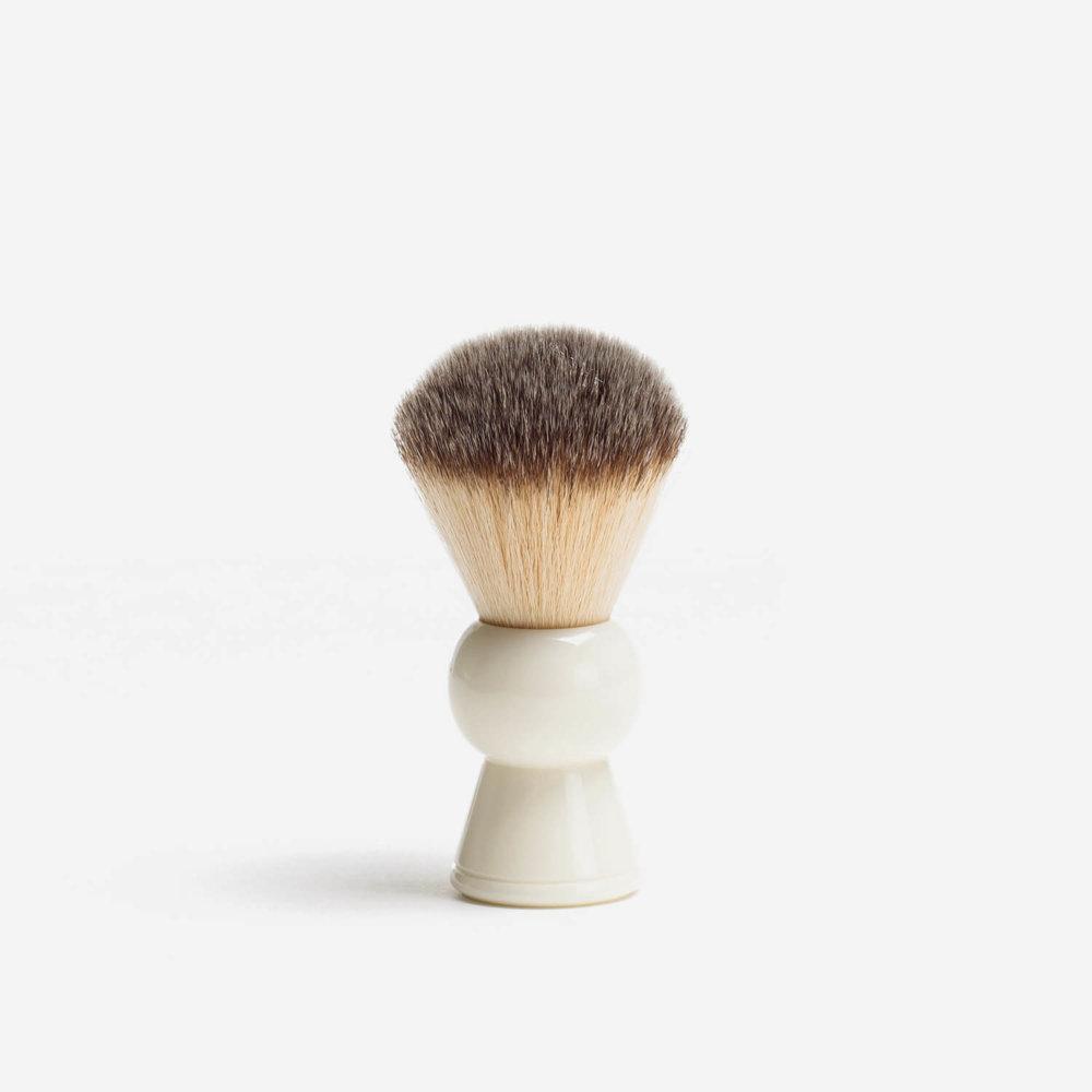 RazoRock Keyhole Plissoft Synthetic Fibre Shaving Brush