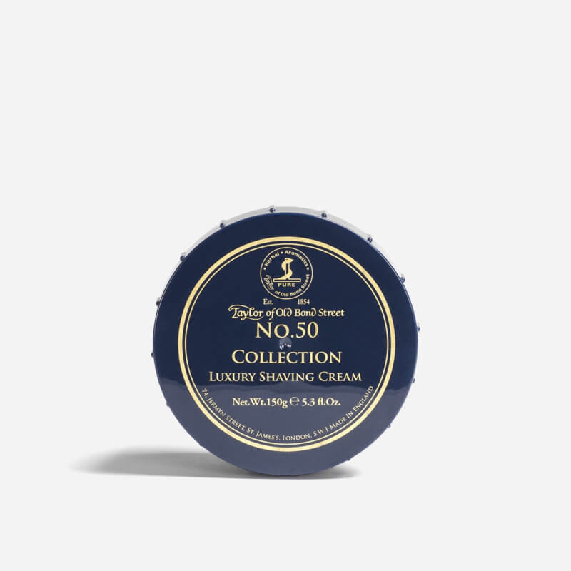 Taylor of Old Bond Street No.50 Collection Shaving Cream
