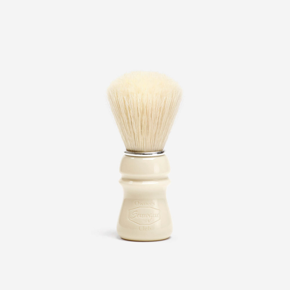 Semogue SOC Boar Hair Shaving Brush with Taj Handle