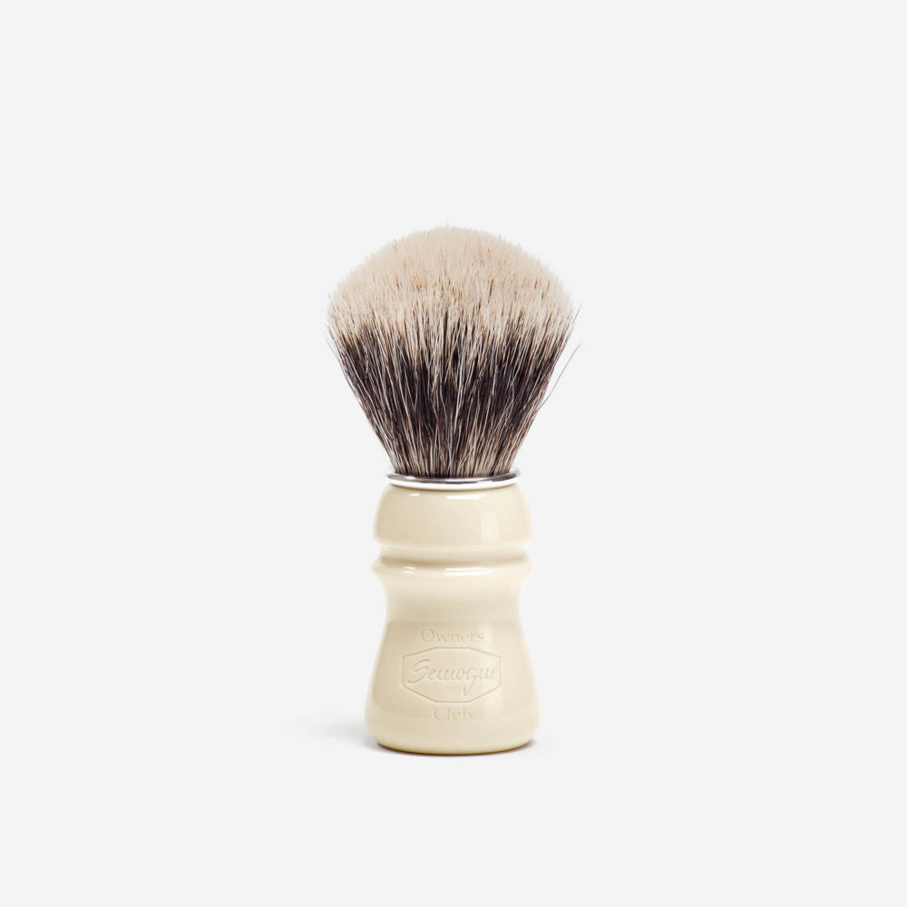 Semogue SOC Fine Badger Hair Shaving Brush with Taj Handle