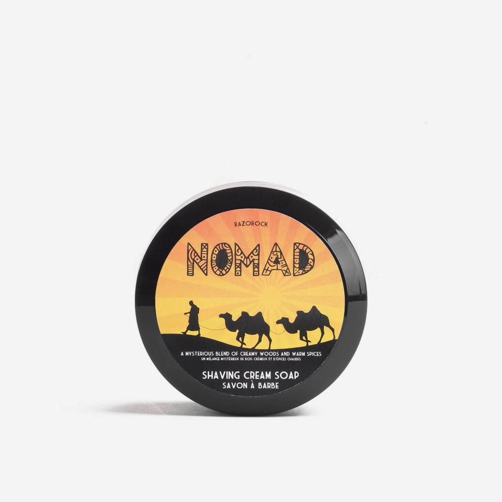 RazoRock Nomad Shaving Cream Soap