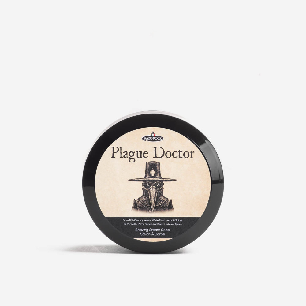 RazoRock Plague Doctor Shaving Cream Soap