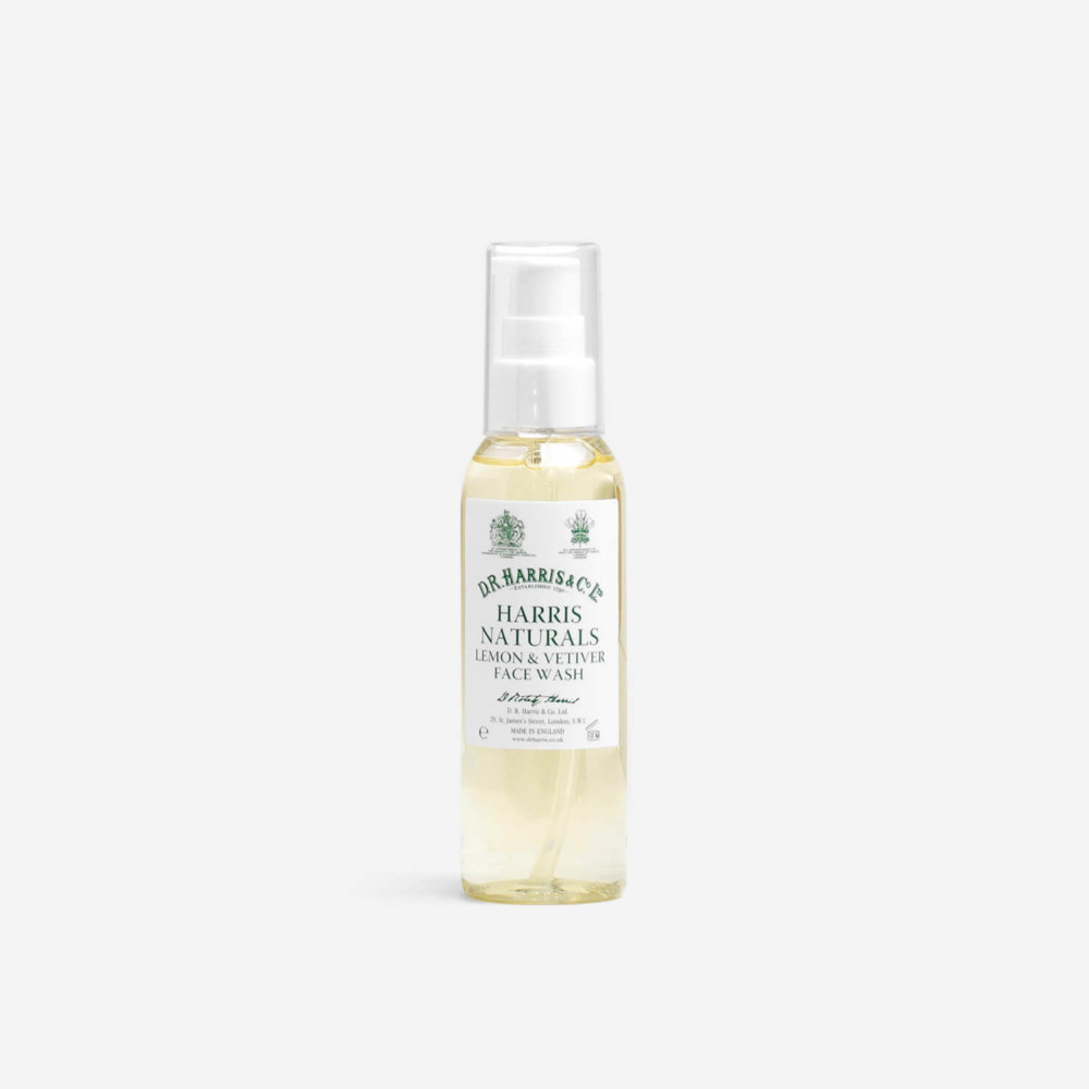 D.R. Harris Lemon & Vetiver Face Wash