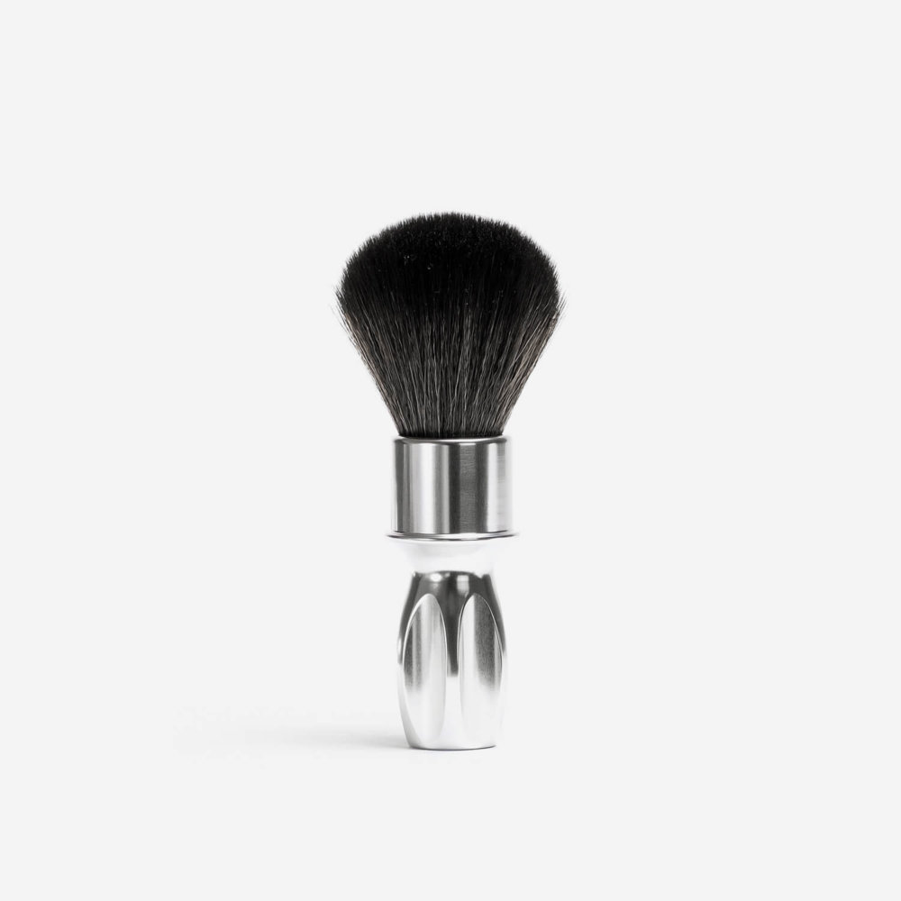 RazoRock 400 Noir Plissoft Synthetic Fibre Shaving Brush