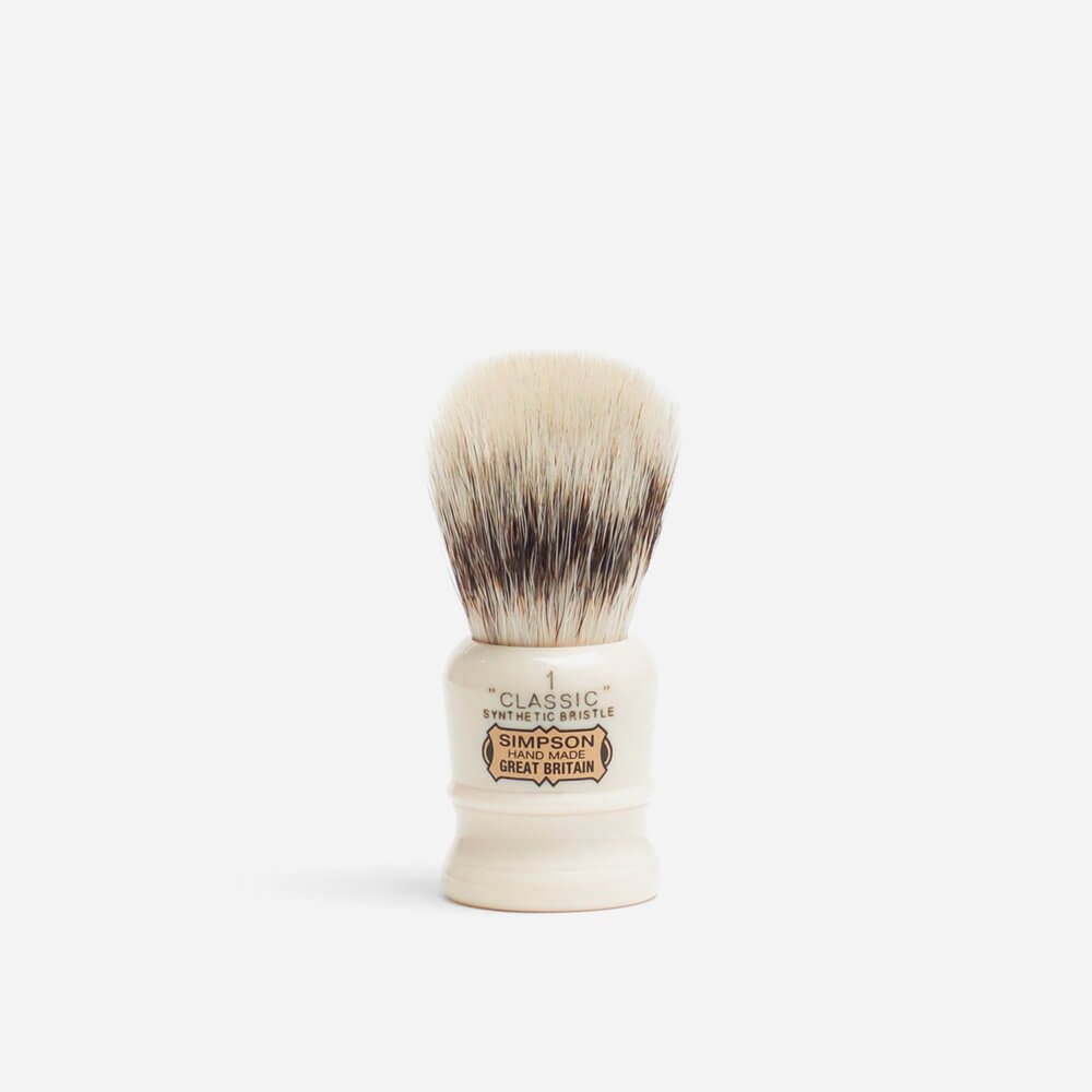 Simpsons Classic 1 Synthetic Fibre Shaving Brush