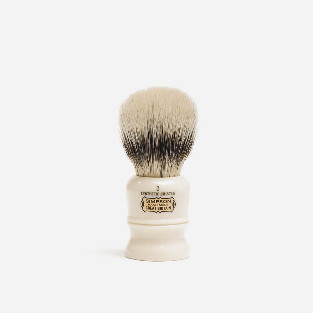 Simpsons Duke 3 Synthetic Fibre Shaving Brush