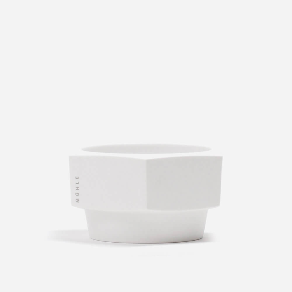 Muhle Hexagon Shaving Bowl - White