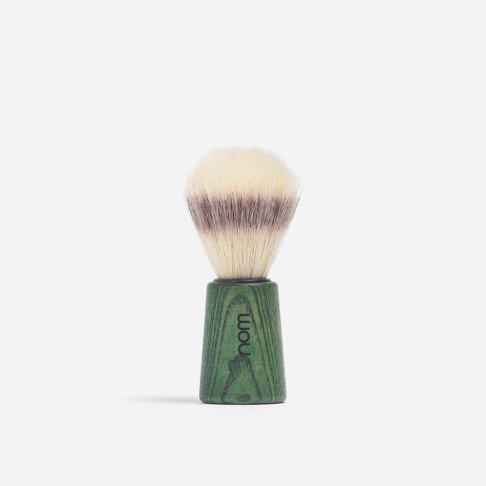 Nom Bristle Shaving Brush - Ash Green