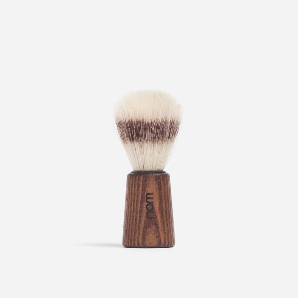 Nom 'Theo' Bristle Shaving Brush - Dark Ash
