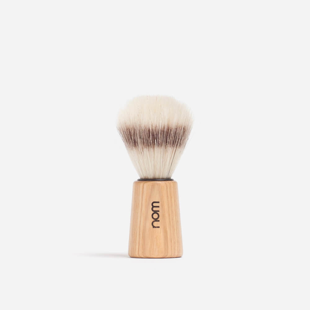 Nom Bristle Shaving Brush - Pure Ash