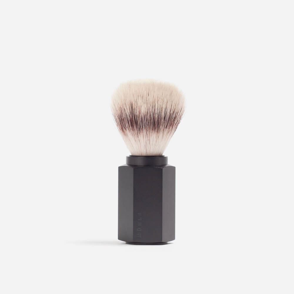 Muhle Hexagon Silvertip Fibre Shaving Brush - Graphite