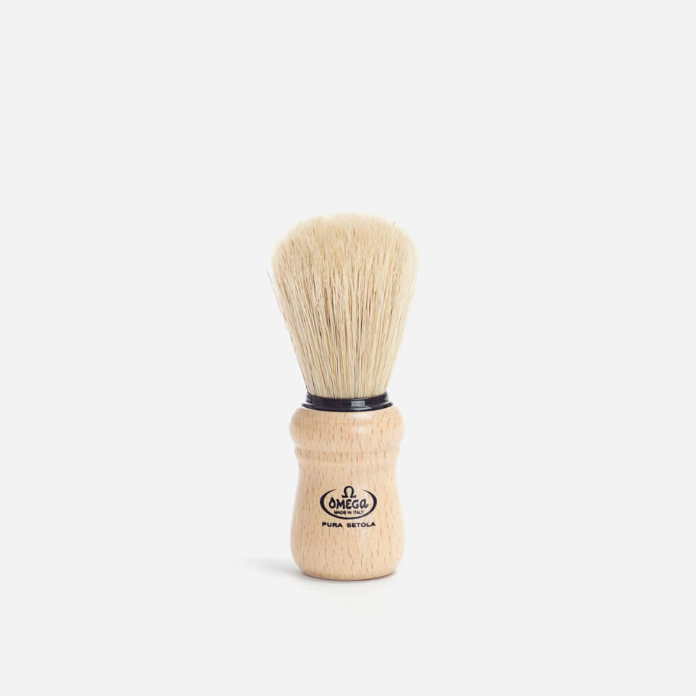 Omega 10005 Boar Hair Shaving Brush